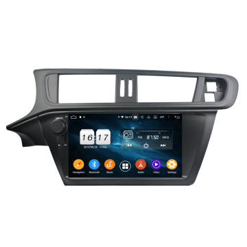 Klyde px5 android head unit voor C3 2011