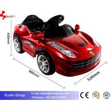 Novo modelo de 12V a bateria licenciado em carros