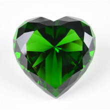 Crystal Gifts Exhibition Souvenir Cristal Coração Diamante