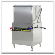 K712 Electric Hood Type Dish Washer With Pre cleaning And Exit Table