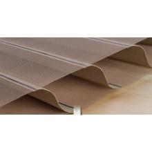 Tissu horizontal à double couche en rouleau shangrila obturateur aveugle