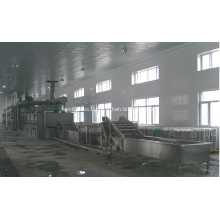 Secador de pera deshidratación / secador de correa