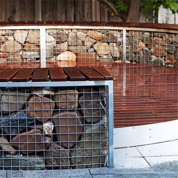 Low Cost Gabion Landscaping Walls