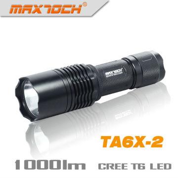 Maxtoch TA6X-2 26650 lanterna recarregável poder