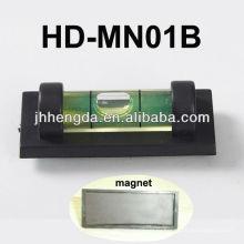 HD-MN01-B, мини-пластиковый уровень с V-образным пазом для трубы