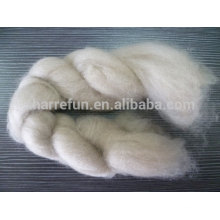 High Quality Mongolian cashmere tops brown 16.5mic/44-46mm