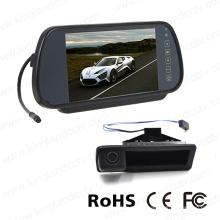 Sistema de cámara de respaldo de coche con monitor de espejo de 7 pulgadas