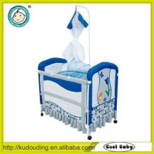 Atacado produtos de porcelana berço do bebê anexado cama