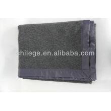 couvertures de câble de laine bon marché / jetés de lit
