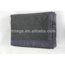 cheap wool cable blankets/bed throws