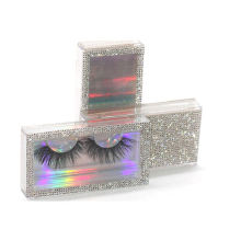 3D199H Hitomi Natural Siberian Mink Lashes Long Eyelash soft natural mink eyelashes Fluffy 25mm Magnetic Mink Eyelashes