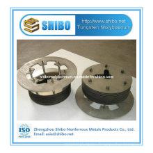 Plaque de couverture de molybdène d'approvisionnement d'usine pour la zone chaude de four croissant de saphir