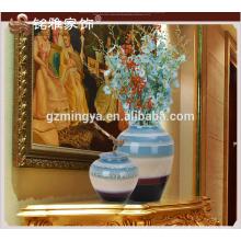 Factory Direct Sales Made in China Unique Home Decoration Pieces Antique Ceramic Flower Vase