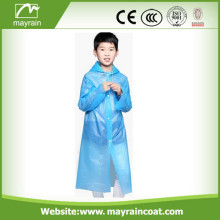 Raincoat Blue Color PE
