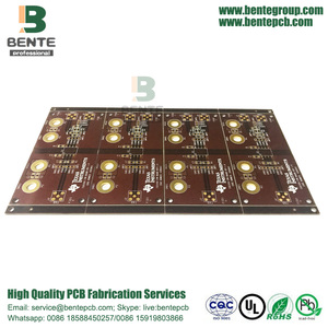 Brown Ink Custom PCB IT180
