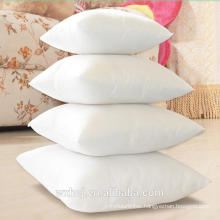 Cheap 100% Cotton White Washable Zipper 45*45cm Pillowcase