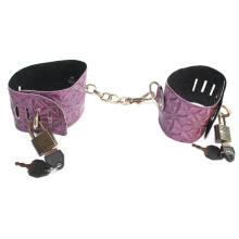 Serpentinite Purple Sex Handcuff Slave Bdsm Sex Game for Couples Sex Toys Bondage Hand Cuffs