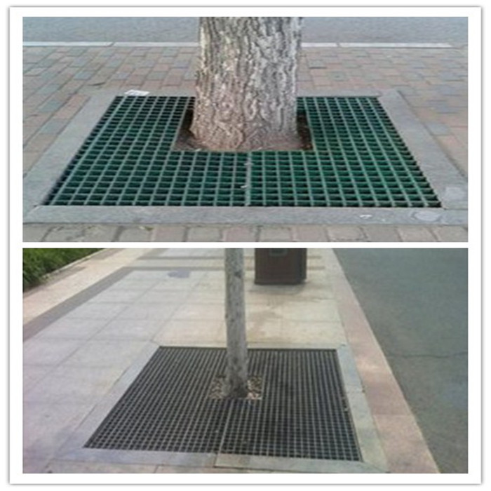 Steel Grid Tree Pool Cover