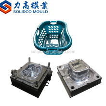 plastic beer fruit vegetable Transfer Basket turnover box injection mould factory in taizhou