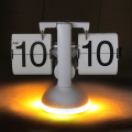 Lighted Table Clock Flip Clock 폰트 사용자 정의 Made