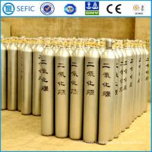 Cylindre industriel sans couture de CO2 d'acier de 50L (EN ISO9809)