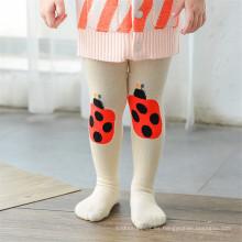 Cute Cartoon Designs Calcetines de algodón Kid Pantyhose Legging de las medias