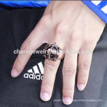 2016 Оптовые холодные вахты кольца перста кольца перста кольца холодные нержавеющие вахта кольца для людей JZB009