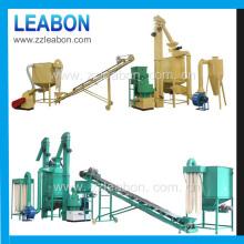 Ligne complète de la machine à granulés de paille de blé