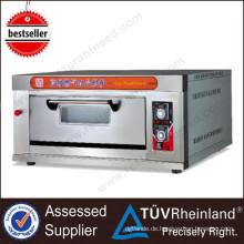 Ce Approved Bakery Equipment 1-Schicht 4-Fach Elektrischer Etagenofen Preis 3 Deck Bakery Oven