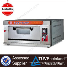 Ce Approved Bakery Equipment 1-Layer 4-Tray Electric Deck Oven Price 3 Deck Bakery Oven