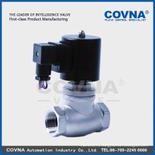 Ss304 высокотемпературная горячая вода Паровой соленоидный клапан высокого качества