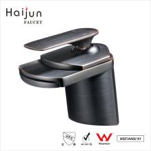 Haijun Top Quality NSF Pull Down Bathroom Saving Water Brass Basin Faucet