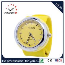 2015 nuevo reloj de la palmada del reloj del silicón del encanto del estilo (DC-916)
