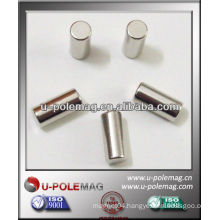 Small Strong Rare Earth Neodymium Cylinder Magnet