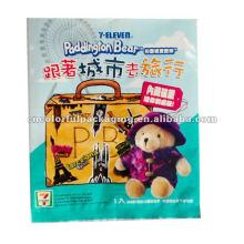 Saco de embalagem de presente de urso de pelúcia