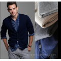 Europe autumn and winter new V-neck 5 buckle long-sleeved of cashmere cardigan man sweater