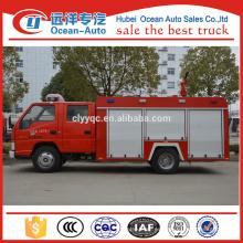JAC 2500l Water Tanker Fuego contra incendios Camión / Bomberos Aparato