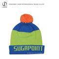 Turn up Bobble Hat Knitted Bobble Hat Turn up Knitted Hat with Pompom Acrylic Toque Acrylic Beanie Acrylic Knitted Hat