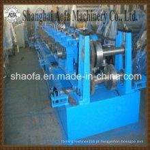 Maquinário para formação de rolos de perfis CZ de aço (AF-Z80-300)