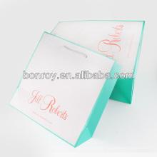 2013 nuevas compras de lujo bolsa de papel para el paño