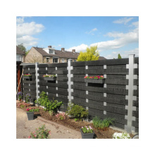 New Wood Plastic Composite WPC Fence for Garden
