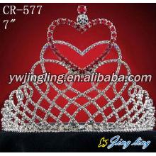 rhinestone valentine's day tiara