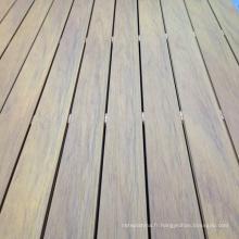 Panneaux de plancher composites en plastique en bois WPC