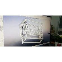 máquina automática de la pintura del perfil del tubo del nuevo diseño