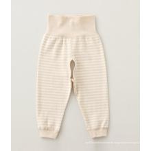 100% Baumwolle Natur Farbe Baby Hosen, Baby-Kleidung