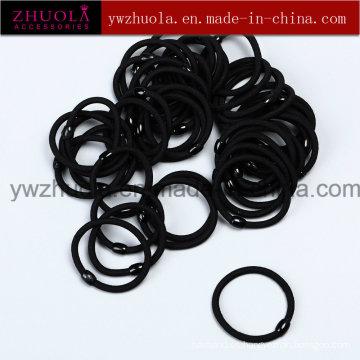 Banda de pelo elástico negro