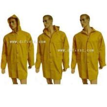 Rain Coat with PVC Coating