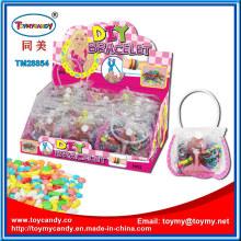 Kinder Gummibänder Spielzeug mit Süßigkeiten