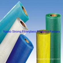 Flame-Resistant Fiberglass Mesh