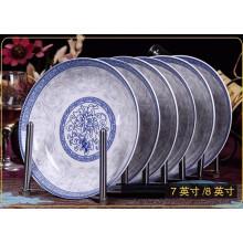 wholesale ceramic white dinner plate dishes